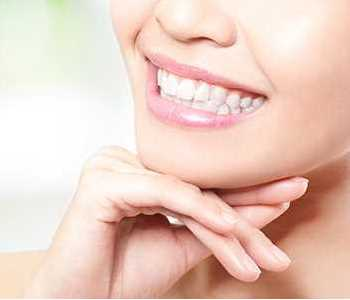 Woman Smile image for cosmetic dentistry