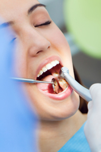Mercury Free Dentistry Kirkland -  Woman At the Dentist Mouth Checkup