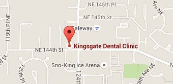 Patient Resources Kirkland - Map and Direction for Kingsgate Dental