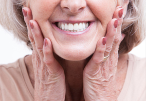Dentures Kirkland -  Senior Woman with Smile